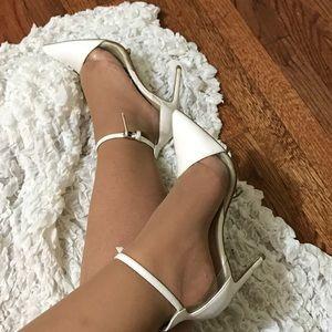 Zara super sexy white high heels